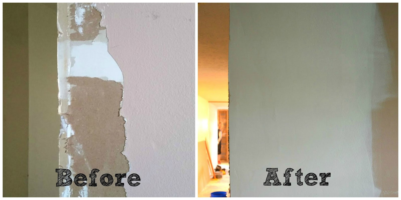 Mrs do it herself how to fix torn drywall paper Priming walls before painting