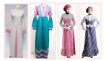 Trend Model Baju Gamis Modern Terbaru
