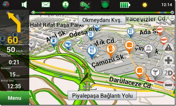 Download Navitel Android v8.5 full version + data Map/Peta indonesia