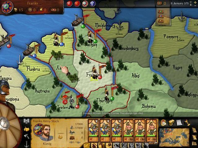 Great Invasions - Map Screenshot