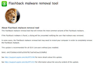 Download Flashback Malware Removal Tool 1.0 free