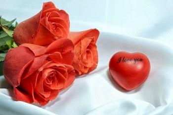 Lettre d'amour avec des fleurs 3