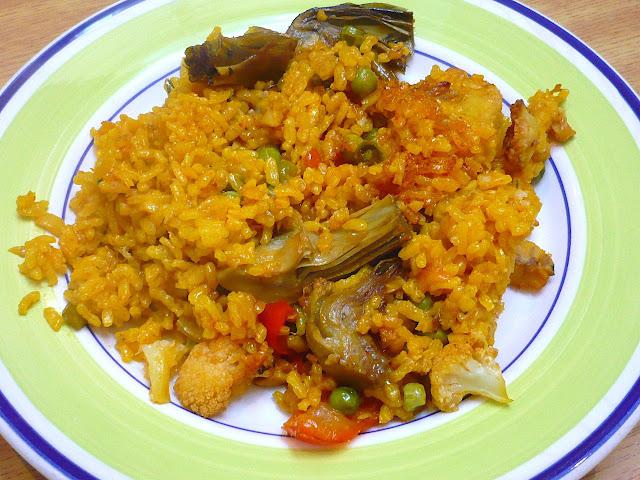 Cocinerando arroz con bacalao - Arroz con bacalao desmigado ...