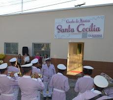 Prefeito abre escola de música e anuncia aumento de 100% para os músicos da Banda Santa Cecília