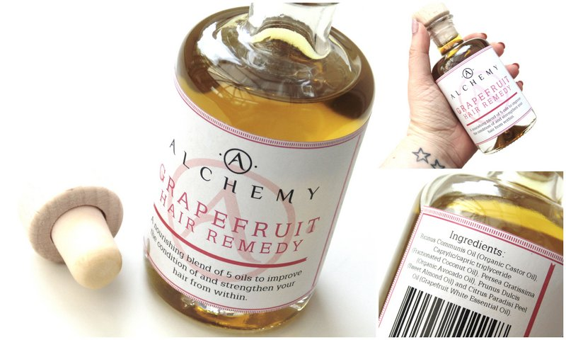 Review: Alchemy Grapefruit Hair Remedy Oil