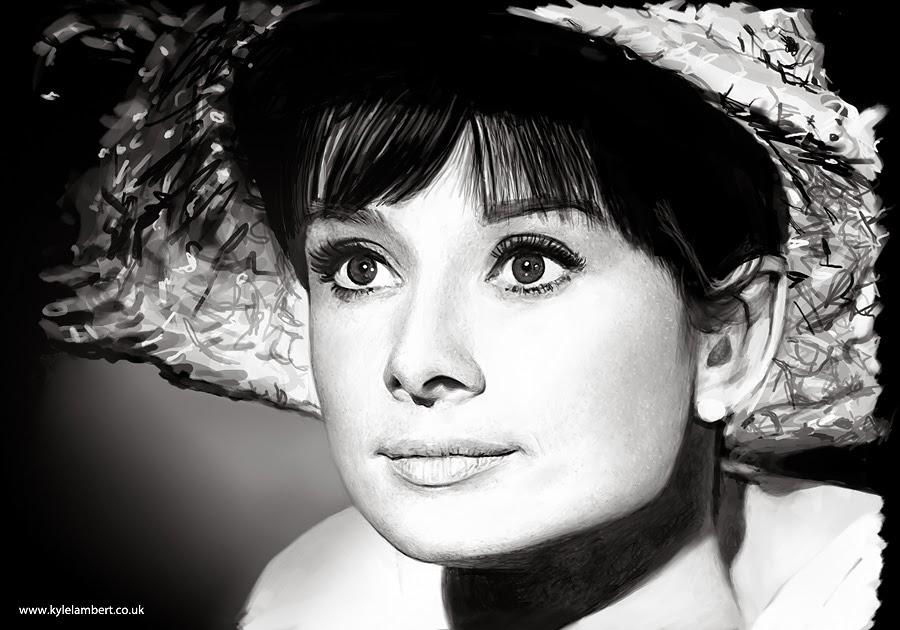 05-Audrey-Hepburn-Visual-Artist-Kyle-Lambert-iPad-Hyper-realistic-Portraits-www-designstack-co