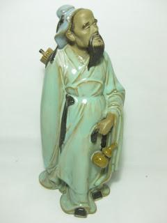 Patung Keramik Kakek Tua