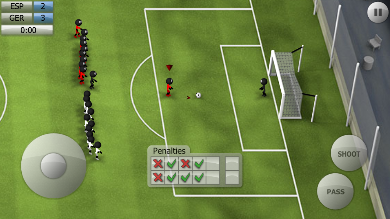Stickman soccer 2014 pro~android