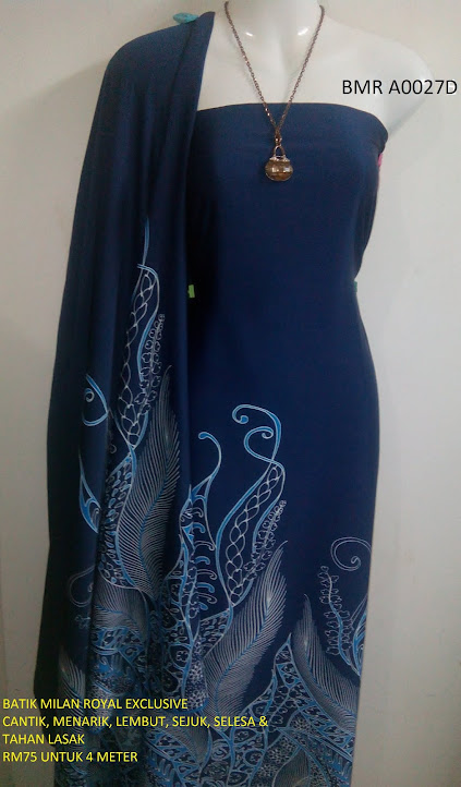 BMR A 0027D:  BATIK MILAN ROYAL EXCLUSIVE