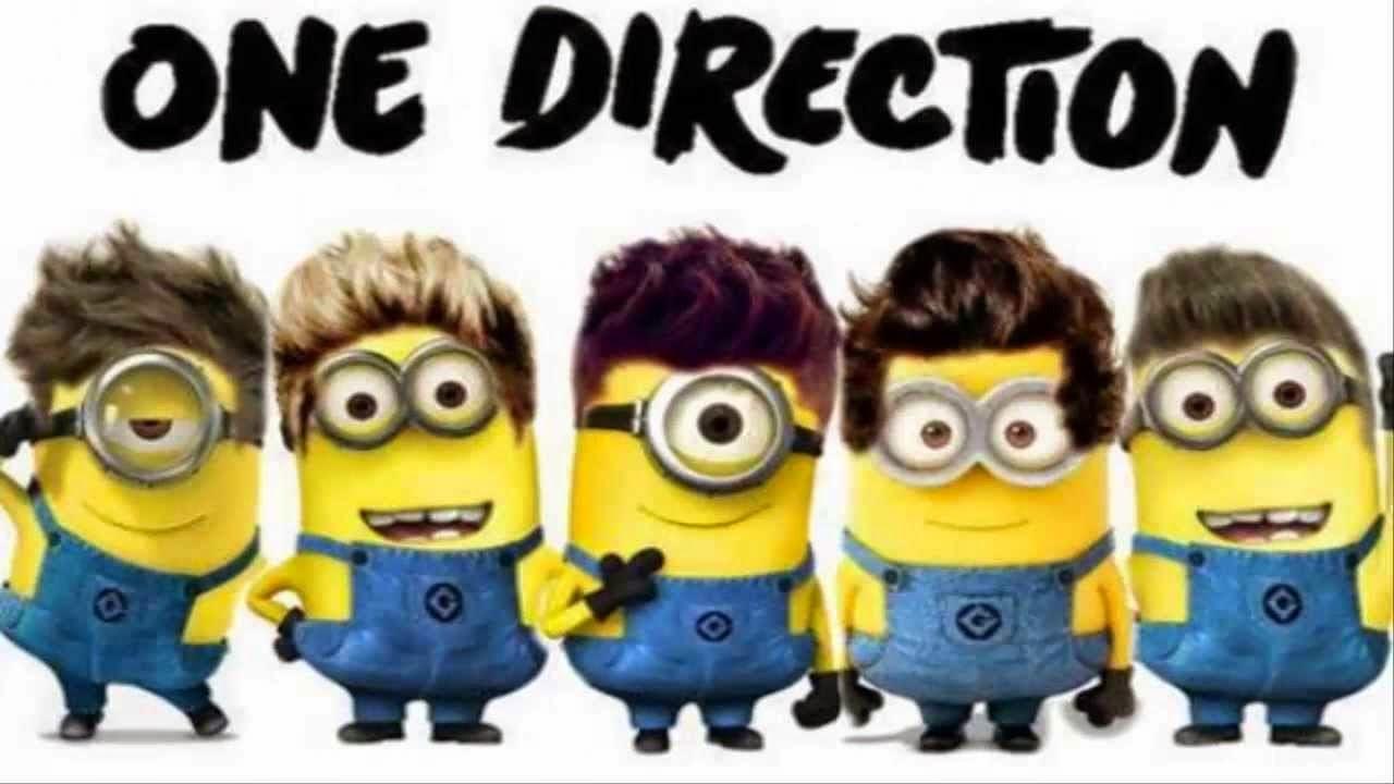 Imgenes de Minions disfrazados de One Direction  MinionLander