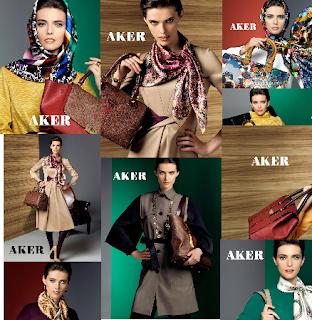Aker Eşarp-Aker Çanta 2012-2013 Sonbahar Kış Koleksiyonu
