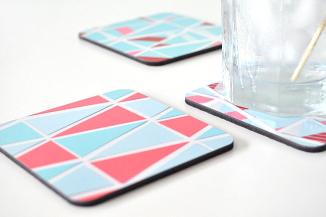 DIY Drink Stirrers & Coasters
