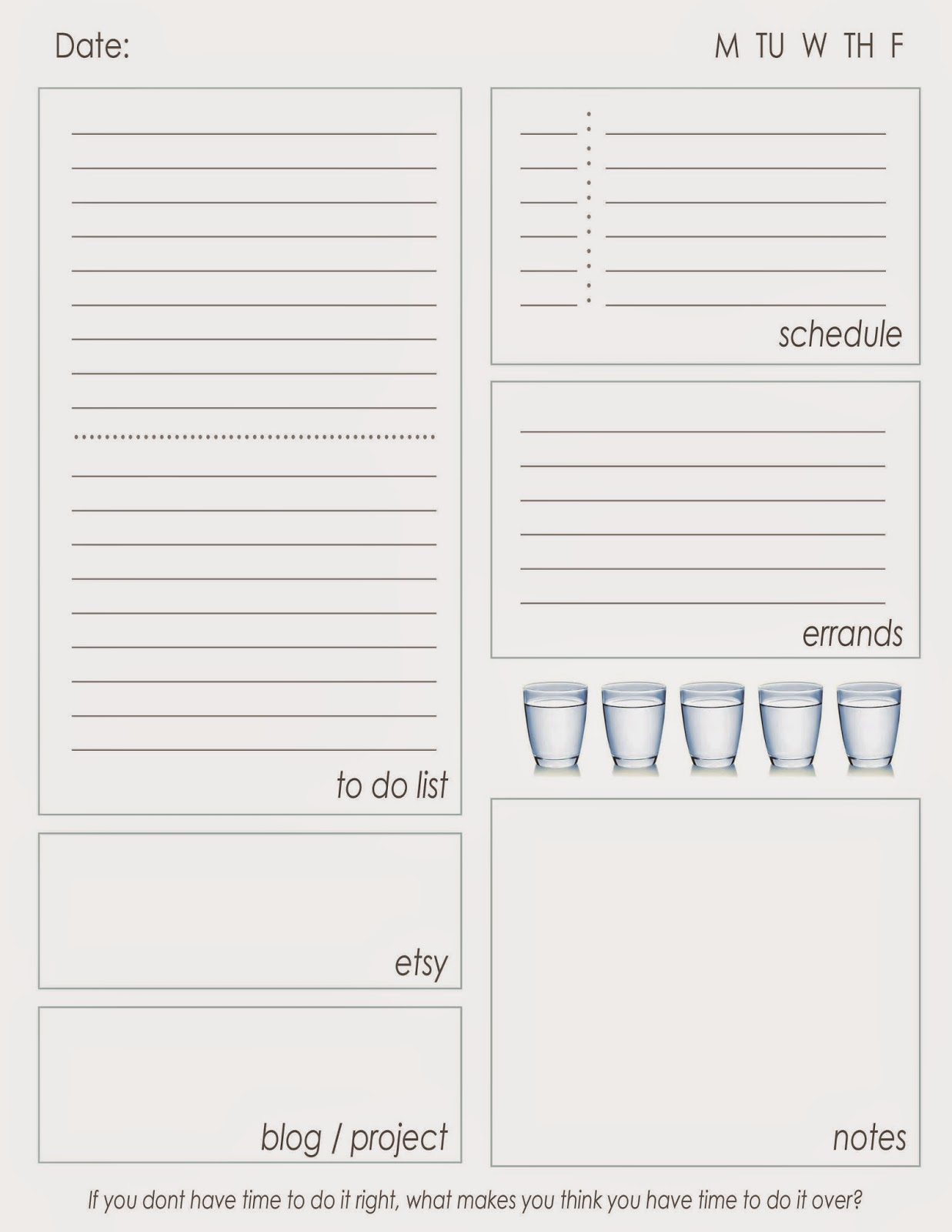 My Tailored To Do List