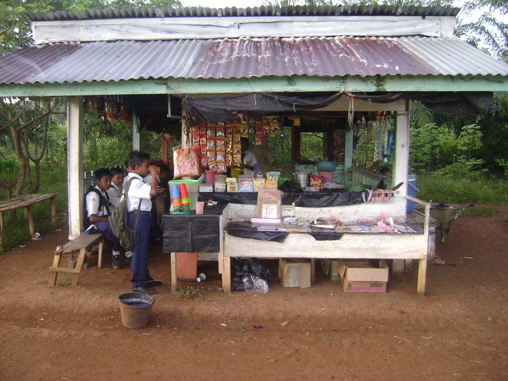 Lapangan Bola Ke Arah Kantin Smp Negeri Megang Sakti