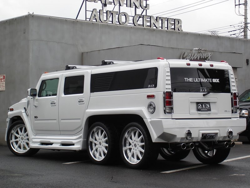 Auto Cars Wallpapers Hummer H2 213 Ultimate Six
