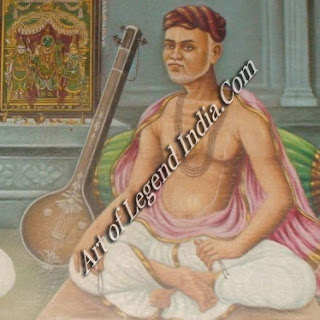 Tyagaraja, the Carnatic musician whose tunes were inspired by Rama