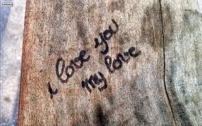 Poème d'amour je t'aime