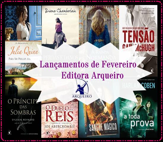 Central de Lançamentos: Editora Arqueiro!
