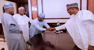 Buhari in closed-door meeting with APC leaders