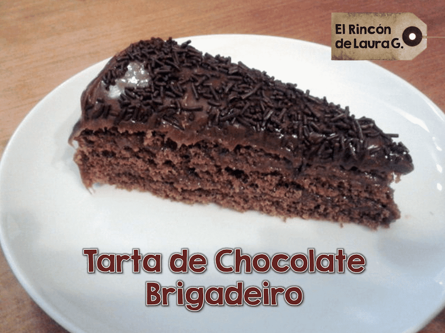 Tarta de Chocolate Brigadeiro