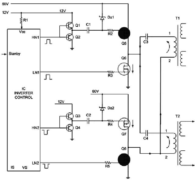 Hình 9 - Các mạch hồi tiếp ổn định điện áp và dòng điện