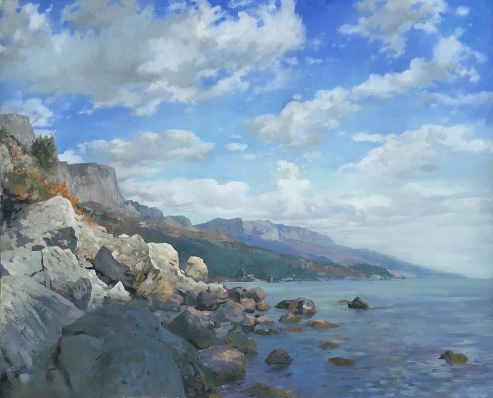 Denis Cernov's oil paintings