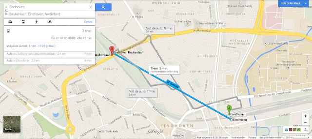 New Google Maps Public Transportation integration