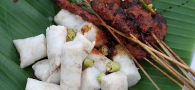 makanan khas lombok, kuliner khas lombok, sate bulayak mataram, resep sate bulayak, tempat sate bulayak, sate bulayak khas lombok, sate bulayak khas mataram