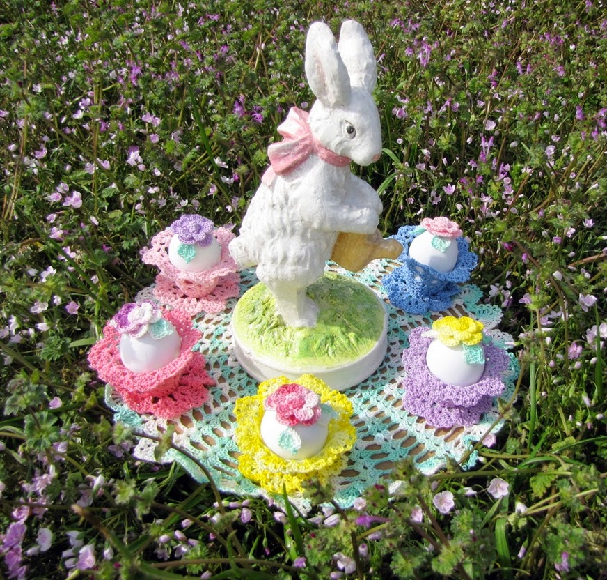 Bellacrochet Easter Garden Doily A Free Crochet Pattern For You