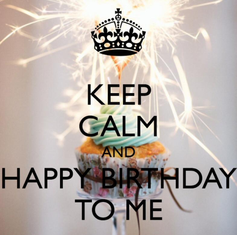 Happy Birthday to.. ME!