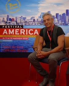 el único autor hispano en el Festival America