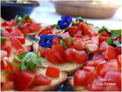 Bruchetta med tomat