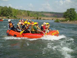 River Rafting in Kashmir