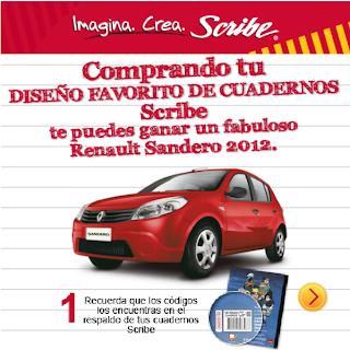 concurso-scribe-gana-carro-renault-sandero-2012