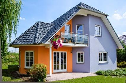 Decorilumina referencias de colores para la fachada de la for De que color pintar la casa