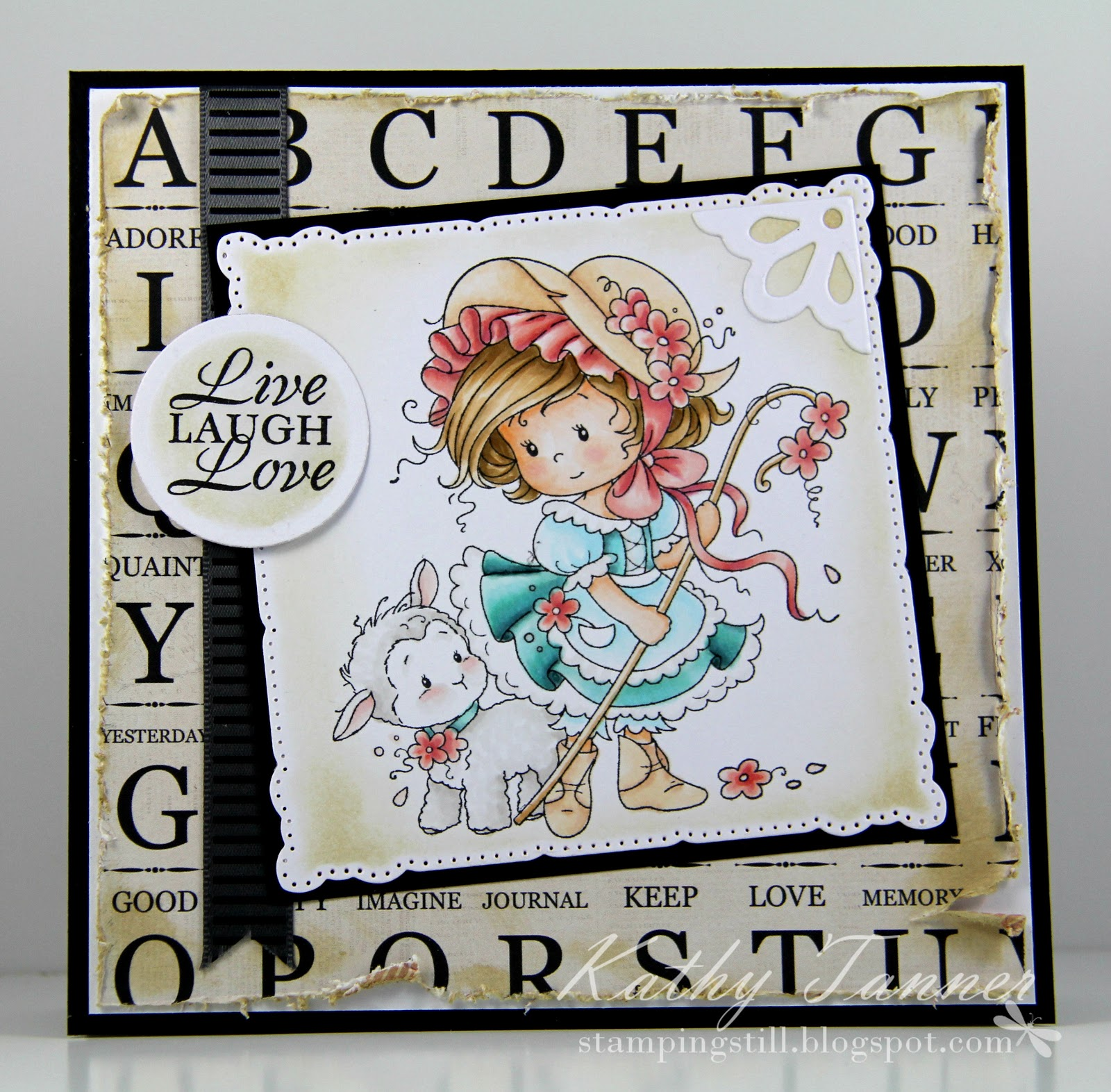 mary, whimsy stamps, sylvia zet