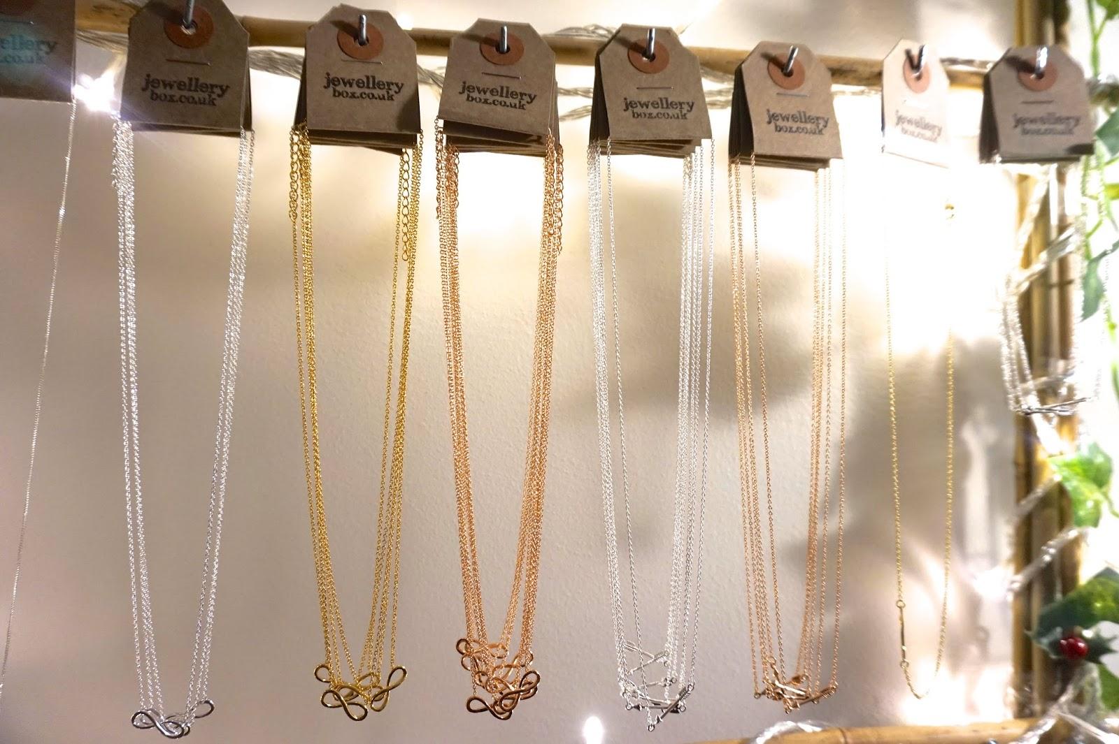 infinity arrow necklace jewellery box london