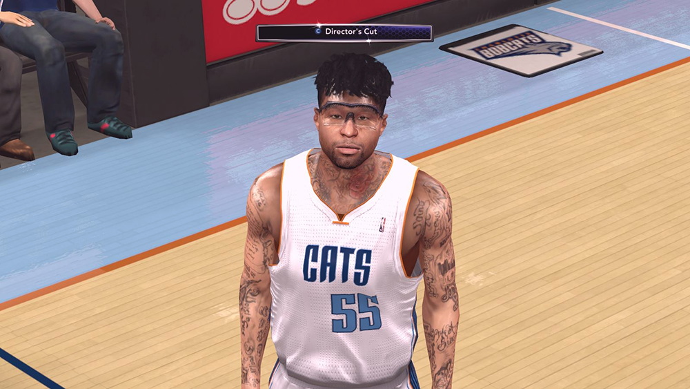 Chris Douglas-Roberts wearing Goggles | NBA 2K14