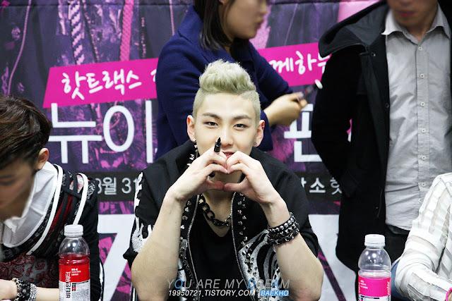 [Pic][31/03/12] Nu'est (Baekho) - Jamsil Hot Track Fansign event 2