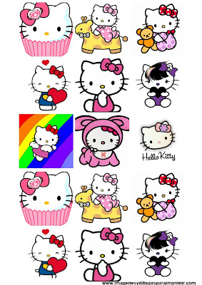 Stickers de hello kitty para imprimir