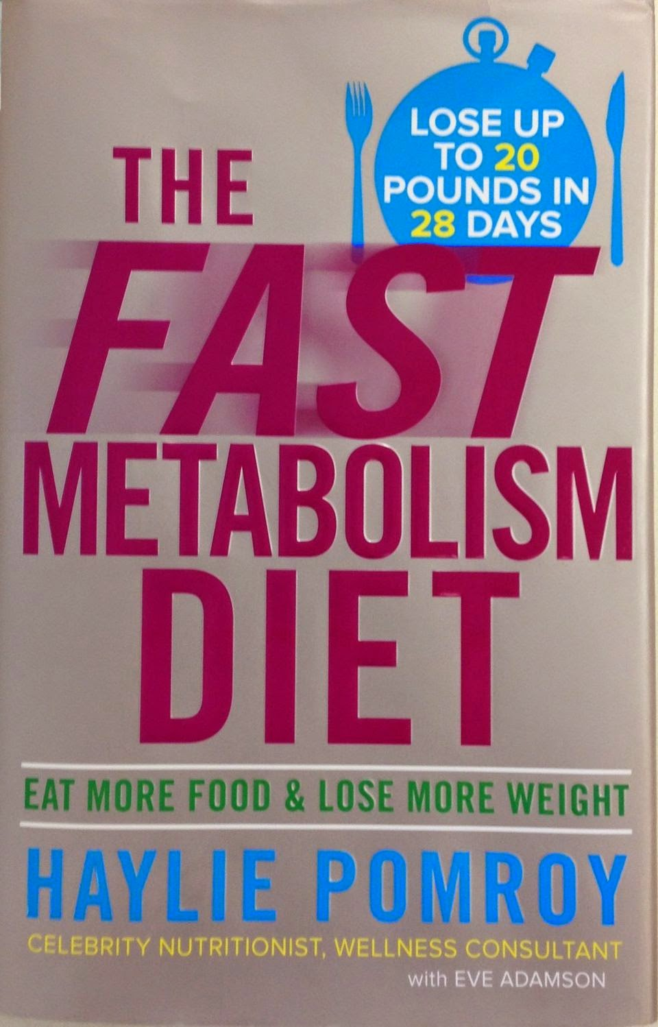 Voice of reason doing the fast metabolism diet the idea is that you follow this for 4 weeks to get your metabolism back on track and then keep going for as many more weeks as it takes to reach your ccuart Images
