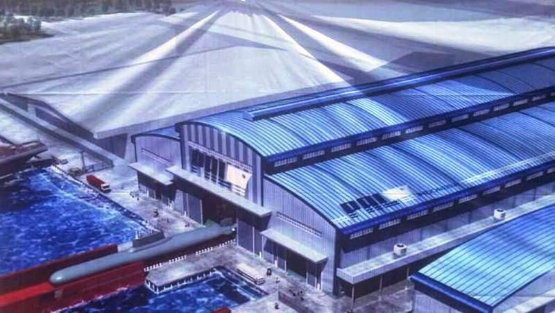 Desain Infrastruktur Pembangunan Kapal Selam PT PAL
