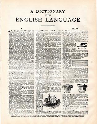 sign language i love you clip art. Vintage Clip Art- Dictionary