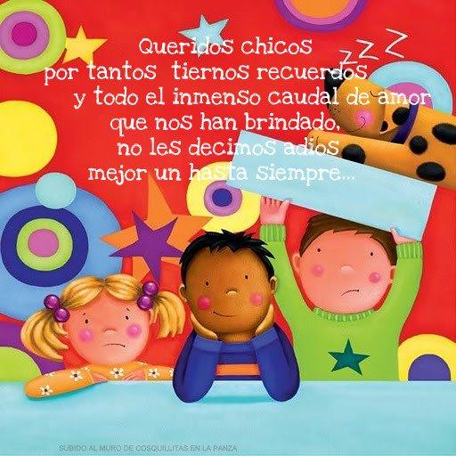 Poemas De Despedida De Preescolar | newhairstylesformen2014.com