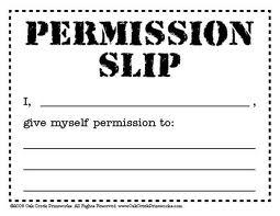 permission+slip spear book farewell to permission slips