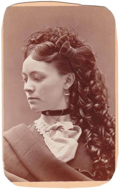 vintage beauty 1870s