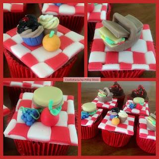 picnic cupcakes.jpg2 Cupcakes PICNIC + Confeitaria!!