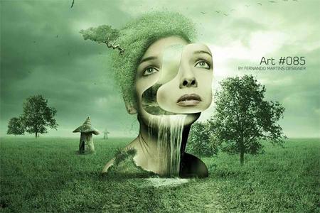 Nature Photo Manipulation: Art 085