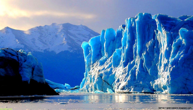 Ice Glaciers  File Name  Blue Ice Glacier Wallpaper Widescreen