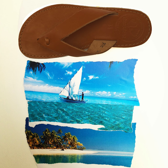 leather thong, ocean, gypsy style
